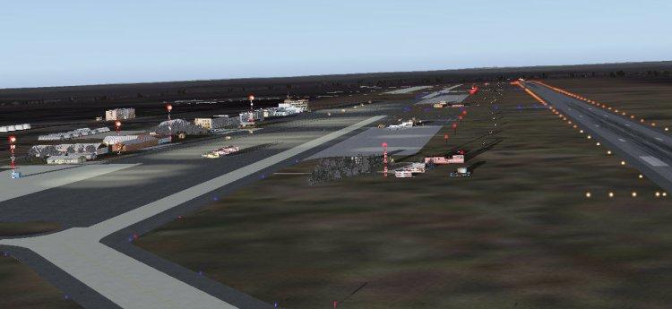 Схема аэропорта БРАТСК